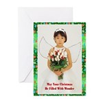 Child Angel 2 Greeting Cards (Pk of 20)