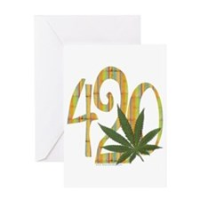 It must be 420 - Greeting Card