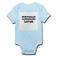 NORWEGIAN LUNDEHUND LOVER Infant Creeper