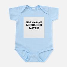 NORWEGIAN LUNDEHUND LOVER Infant Creeper