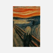 The Scream Rectangle Magnet (10 pack)