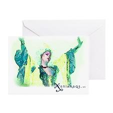 Xenia Raqs Greeting Cards (Pk of 10)