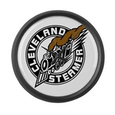 Cleveland Steamer Large Wall Clock