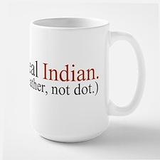"""""""Feather, not dot"""" Mug"""