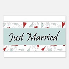 Just Married... Postcards (Package of 8)
