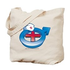 Men in Nursing Tote Bag