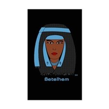 Betelhem DE 001 Rectangle Decal