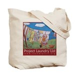 Project Laundry List Tote Bag