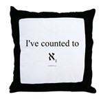 I've Counted to Aleph 1 - Throw Pillow