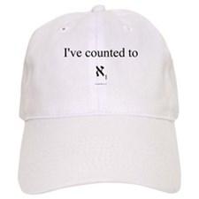 I've Counted to Aleph 1 - Baseball Cap