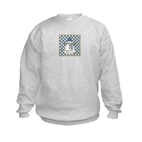 Welcome Snowman Kids Sweatshirt