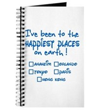Happiest Places on Earth Journal