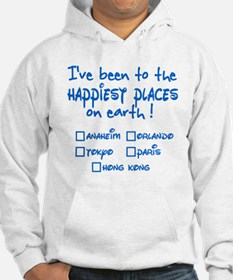 Happiest Places on Earth Hoodie