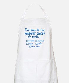 Happiest Places on Earth BBQ Apron