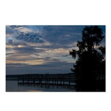 Postcards (Pkg. of 8) Daybreak Over Newnan's Lake