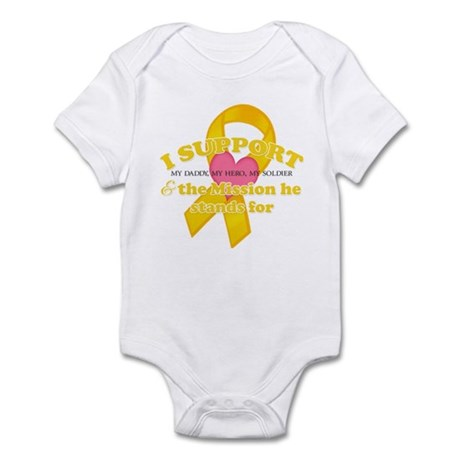 I Support - My Daddy, My Sold Infant Bodysuit
