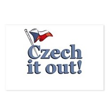 Czech It Out! Postcards (Package of 8)