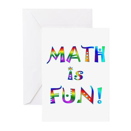 Math Greeting Cards (Pk of 10)