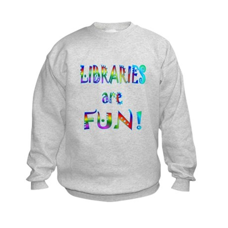Libraries Kids Sweatshirt