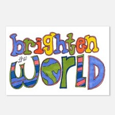 Brighten the World Postcards (Package of 8)
