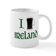 I Love Ireland (beer) Mug
