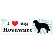I Love My Hovawart Bumper Bumper Sticker