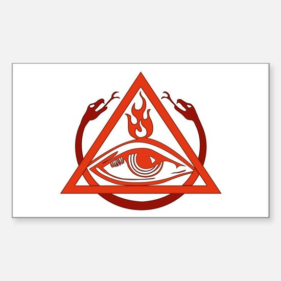 Order of the Triad Rectangle Decal
