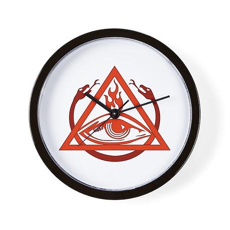 Order of the Triad Wall Clock