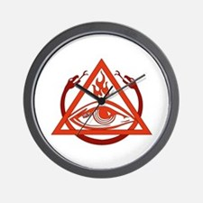 Order of the Triad Wall Clock