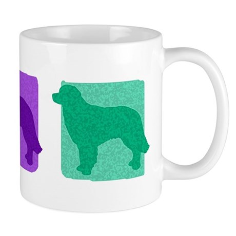 Color Row Hovawart Mug