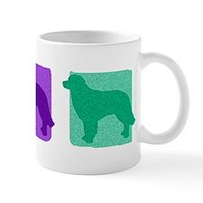Color Row Hovawart Mug