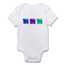 Color Row Hovawart Infant Bodysuit
