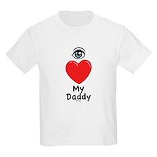 Eye Love DAD T-Shirt