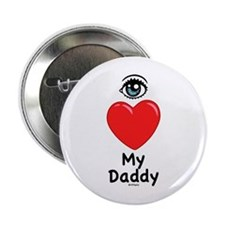 Eye Love DAD Button