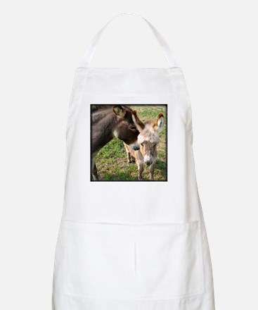 Donkey Mother's Love BBQ Apron