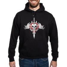 Sword Skull - RED Hoody