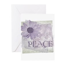 Vintage Peace Daisy Greeting Cards (Pk of 10)