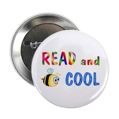"""Reading 2.25"""" Button (10 pack)"""