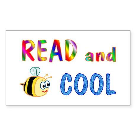Reading Rectangle Sticker