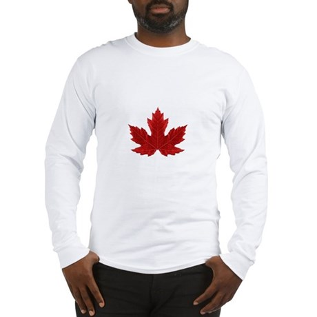 Canadian Maple Leaf Long Sleeve T-Shirt