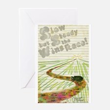 Slow but Steady Greeting Card