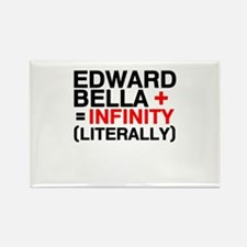 Cute Twilight infinity Rectangle Magnet