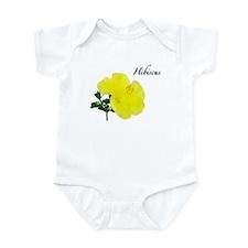 Hibiscus Yellow Flower Infant Bodysuit
