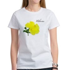 Hibiscus Yellow Flower Tee