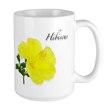 Hibiscus Yellow Flower Mug