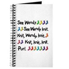 Wendy's Coolest Ever Knitting Journal
