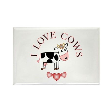 Cows Rectangle Magnet