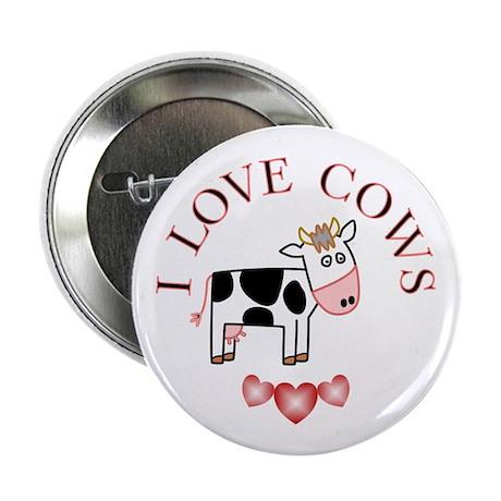 """Cows 2.25"""" Button"""