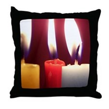 Cool Menorahs Throw Pillow