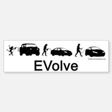 EVolve Bumper Car Car Sticker